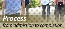 Process from admission to completion
